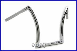 1 1/4 Chrome 16 Rise Z Handlebars Harley Softail Sportster Dyna Chopper Bobber