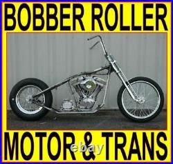 100 Rigid Bobber Chopper Rolling Chassis Engine Harley Bike Kit