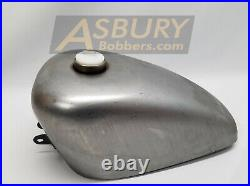 2.4 Gallon Peanut Gas Tank Harley Chopper Bobber. With sight tube 58-78