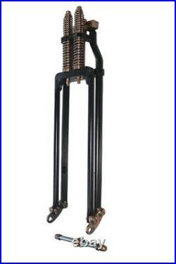 2 Under 20 Black Copper Brass Springer Front End Harley Bobber Chopper Softail