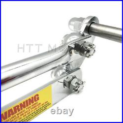 20 2 Under Chrome Springer Front End With Axle For Harley Chopper Bobber Arched