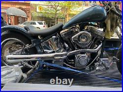 7 1/2 Strutless Rear Fender Harley Chopper Custom Softail Bobber New