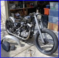 Aluminum Fork Shrouds Xlch Sportster Harley Davidson Chopper Bobber