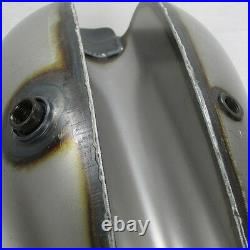 Axed Chopper Wasp Dual Fill CAM 2.2 Gal Steel Gas Tank Motorcycle Harley Bobber