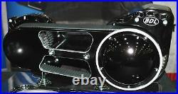 BDL Black 2 Open Belt Drive Primary 90-06 Harley Softail Chopper Bobber Custom