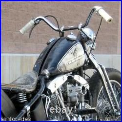 Bent Risers Helling & Stellings Style 1 Bars Harley Triumph Bobber Chopper Pair