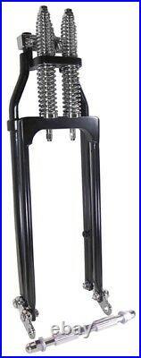 Black 18 Springer Front Fork Suspension For Harley Chopper Bobber 35208