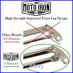 Black Springer Front End Stock Length Harley chopper bobber sportster ironhead