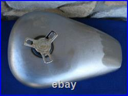 Bobber Style Sportster Gas Tank With Spinner Gas Cap Parts For Harley Chopper