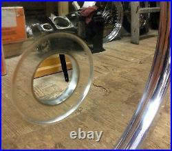 CUSTOM 2.15x21 WHEEL Blank Mag Solid Aluminum Billet Harley Chopper Bobber Softa