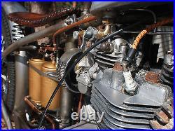Chopper Rigid Solo Bobber Custom Motorcycle Seat Harley Leather Handtooled