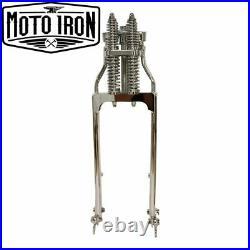 Chrome Springer Front End +2 Length Harley Davidson Sportster Bobber Chopper dna