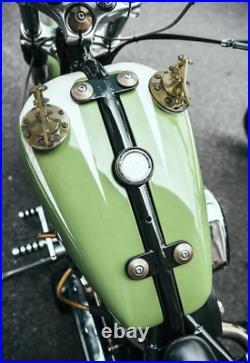 Custom HandMade Speedster Gas tank cap cover Harley Davidson Bobber Chopper