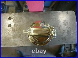 Custom gas cap EM Brass Gas tank cap cover Harley Davidson Bobber Chopper