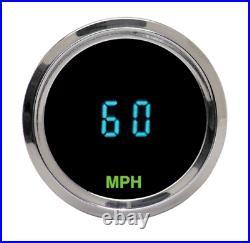 Dakota Digital Mini 2 1/16 Speedometer Harley Chopper Bobber Custom # HLY-3013