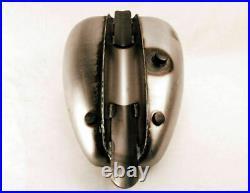 Drag Specialties 3.3 Gallon Mustang Single Cap Gas Tank Bobber Harley Chopper
