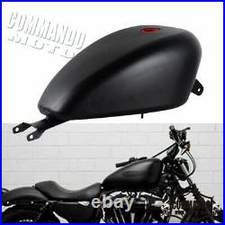 EFI 3.3 Gallon Gas Fuel Tank For Harley Chopper Bobber Sportster XL 1200 883