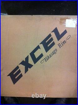 EXCEL 17 X 3.50 40 HOLE CHROMED ALLOY WIDE RIM HARLEY HD CUSTOM Chopper Bobber
