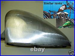 Gas Tank Low Tunnel Harley 3.1g Sportster Frisco -triumph Xs650 Bobber Chopper