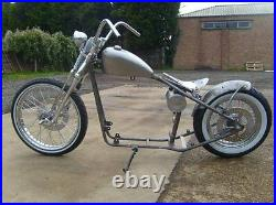 HARLEY SPORTSTER RIGID FRAME EVO and IRONHEAD. (frame only) FENLAND CHOPPERS