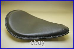 Harley Chopper Bobber Leather Motorcycle Seat Sporty B1
