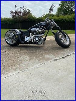 Harley Davidson custom chopper/ bobber