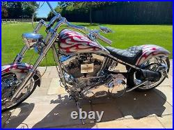 Harley Davidson custom chopper/bobber