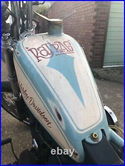 Harley Davidson superglide sport custom chopper bobber