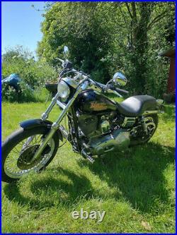 Harley davidson dyna super glide chopper/bobber/badss