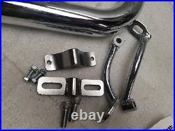 LAF Exhaust Drag Pipes Harley Ironhead Sportster XLH XLCH Custom Chopper bobber
