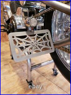 Licence Plate Tag CFL West Coast Choppers Harley Bobber