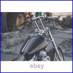 Lowbrow Customs WX Split Gas Tank 36-84 Harley Panhead Shovelhead chopper bobber