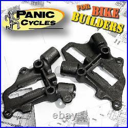 Oem Rigid Frame Cast Rear Axle Plates Custom Bike Builder Harley Bobber Chopper