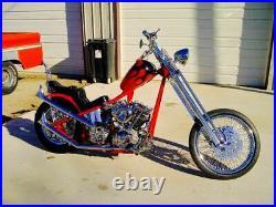 Paughco 4.2 Gallon Axed Gas Tank 95-03 Harley Sportster XL Bobber Chopper 822C