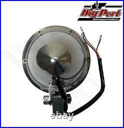 Solid Brass Rim Aluminium CNC Back 5 Headlight Harley XS Bobber Chopper