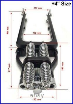Springer Forks Harley Bobber Chopper 2 Inch Over Length Chrome Big Port Classic