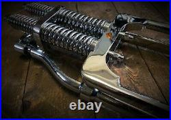 Springer Forks Harley Bobber Chopper 4 Inch Over Length Chrome Big Port Classic