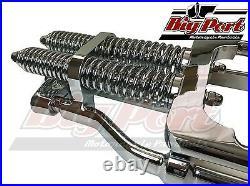 Springer Forks Harley Bobber Chopper +6 Inch Over Length Chrome Big Port Classic