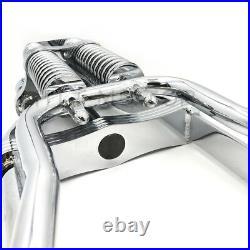 Springer Front End +2 Length For Harley Sportster Bobber Chopper Chrome Black