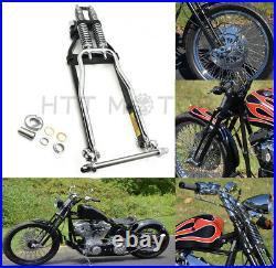 Springer Front End -4 Under Black For Harley sportster bobber chopper