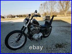 Sully's Customs Sportster Seat King & Queen Harley Chopper Bobber1982-2003