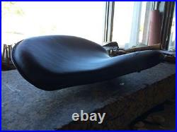 Tractor Spring Solo Motorcycle Seat Sportster Chopper 1200 Harley Bobber Leather