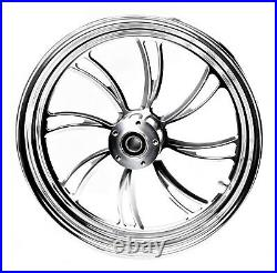 Twisted Vortex Rear Wheel 18 X 5.5 Harley Custom Softail Rigid Chopper Bobber
