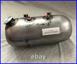 USA MADE Round Hollow Point Side Fill Custom Oil Tank For Harley Chopper Bobber