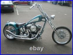 Ultima 250 Wide Tire Hardtail Rigid Custom Chopper Bobber Frame Harley Big Twin