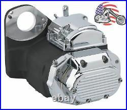 Ultima Black Chrome LSD 6-Speed Transmission Harley Evo Softail Chopper Bobber
