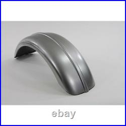 V-Twin 8 Wide Round Profile Ribbed Rear Fender Harley Bobber Chopper Motorcycle