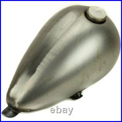 V-Twin Axed Style Gas Tank 2.2gal Single Cap Harley Bobber Chopper Motorcycle
