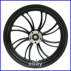 Vortex Rear Black Wheel 18 X 5.5 Harley Custom Softail Rigid Chopper Bobber
